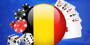 drapeau belge jeux casino jetons dés cartes